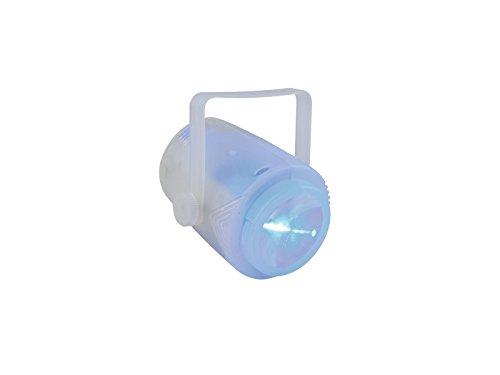 showking AKKU LED Effektstrahler, 9.2W, Mehrfarbig, Fernbedienung - Tragbarer Partyeffekt mit Akku für unterwegs