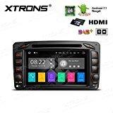 "XTRONS 7"" Touch Screen Autoradio mit Android 7.1 Quad Core DVD-Player HDMI Autostereo unterstützt 3G 4G Bluetooth4.0 2GB RAM 16GB ROM DAB & OBD2 TPMS FÜR Mercedes-Benz"