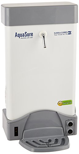 Eureka Forbes Aquasure Aquaflo DX 18-Watt UV Water Purifier (White)