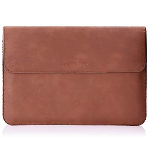 MoKo Sleeve Custodia Protettiva in Eco Pelle per MacBook Air 13.3' e MacBook PRO 13.3' con Tasca...