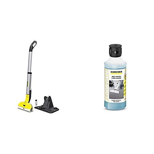 Kärcher 1.055-300.0 Lavasciuga pavimenti FC 3 Cordless + Detergente Universale per Pavimenti RM...