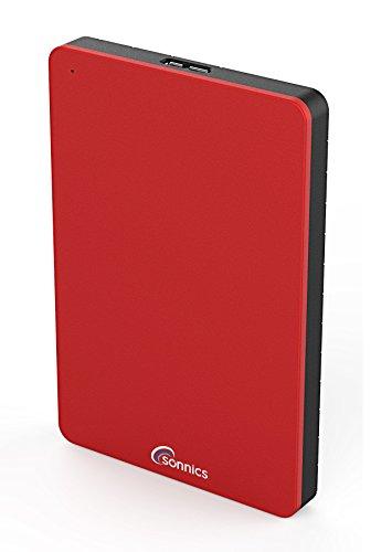 Sonnics, Hard disk esterno SSD (Solid State Drive) con porta USB 3.0, super velocità di...