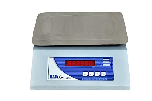 LG ELECTRO Table Top Scale, 20 Kg (Grey)
