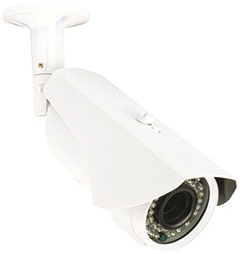 König SAS-CAM3110 Telecamera per Videosorveglianza con Obiettivo Varifocale, Bianco