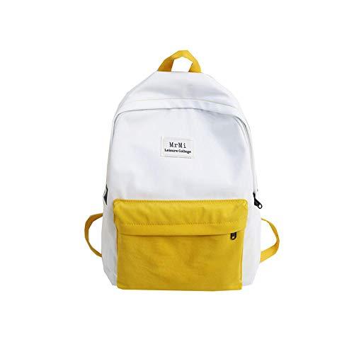 LTTGG Borse a spalla da donna Schoolbag Piccola borsa a tracolla fresca a contrasto college wind...