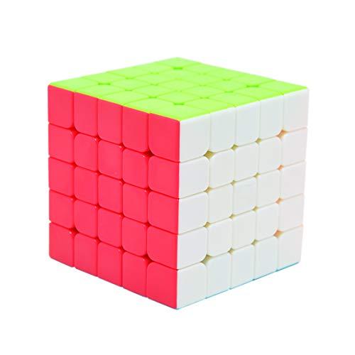 Maomaoyu Speed Cube 5x5 Stickerless, Cubo Magico 5x5x5 Professionale, Puzzle Rompicapo per Adulti e...