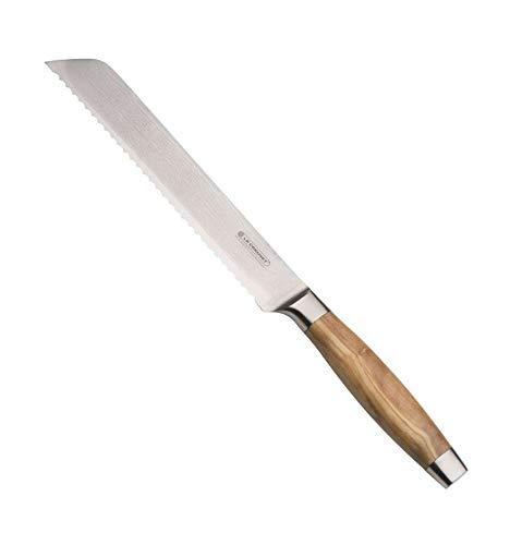 Le Creuset 98000520000200 Coltello Pane, Steel, Inox