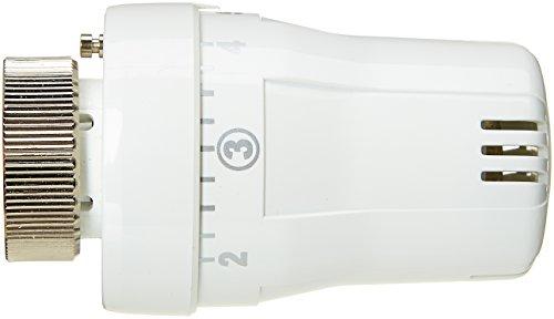 Boutté TTJ Tete de radiateur thermostatique, Blanc