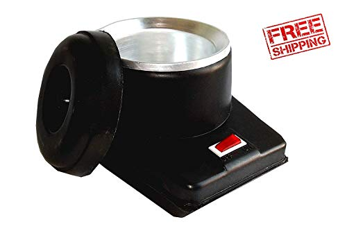 BE UNIQUE CARE Wax and Oil Heater (Black)