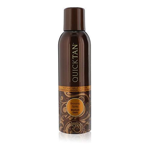 Body Drench Quick Tan Instant Self-Tanner/Bronzing Spray - Medium/Dark, 6 Fl Oz