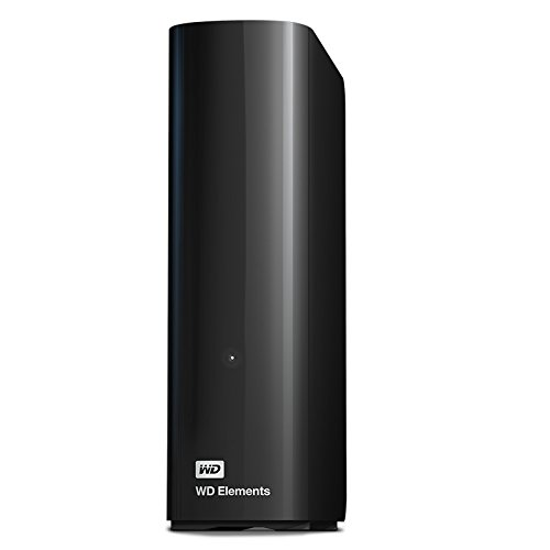 WD Elements Desktop 4TB - Hard Disk Esterno, USB 3.0