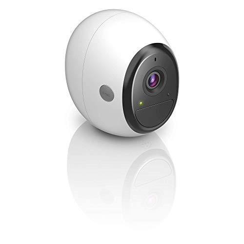 D-Link DCS-2800LH-EU Telecamera Aggiuntiva di Sicurezza Wifi, Alimentata a Batteria, HD, Visione Notturna, per Kit mydlink Pro, Funziona con Alexa