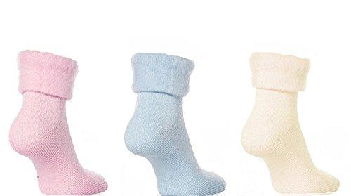 Sleeperzzz – Pack de 3 Paires de chaussettes thermiques pour la nuit
