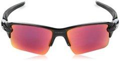 Oakley-Flak-20-918891-59-Gafas-de-Sol-para-Hombre-Negro-Polished-Black