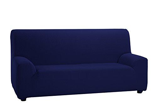 Martina Home Tunez Copridivano elastico, Tela (50% poliestere, 45% cotone, 5% elastan), Blu Mare, 3...