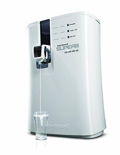 Aquaguard Superb RO+UV+UF Water Purifier (Black and White)