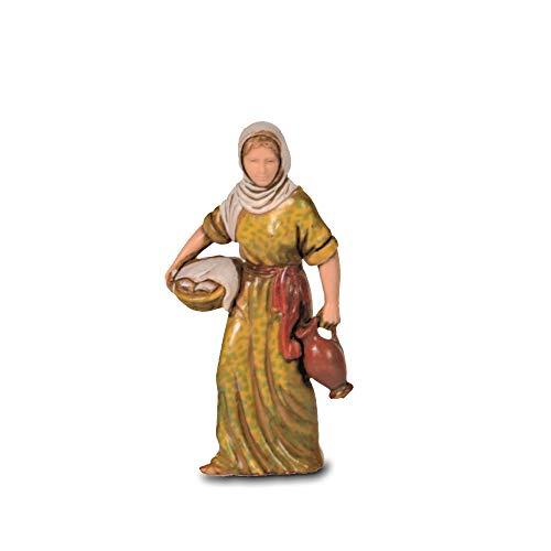 Moranduzzo Donna con Brocca, 8 cm, Multicolore