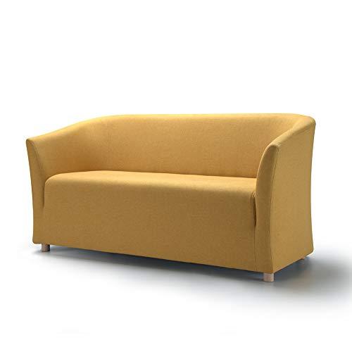 Marchio Amazon -Movian, divano 2 posti modello Laura, colore giallo