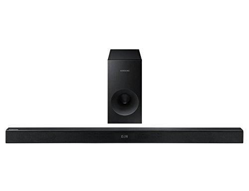 Samsung HW-K430 Altavoz soundbar 2.1 Canales 220 W Negro - Barra de Sonido (2.1 Canales, 220 W, DTS,Dolby Digital, Altavoz de subgraves (subwoofer) Activo, Separar, Inalámbrico y alámbrico)