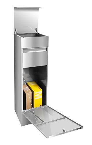 frabox Design Paketkasten Namur Edelstahl - 3