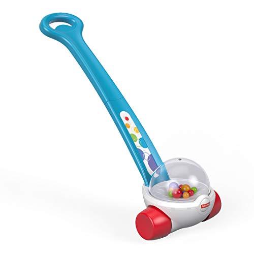 Fisher-Price FGY72 - Laufspaß Kugelroller, Kleinkind und Baby Lauflernhilfe mit bunten Kugeln, Gehhilfe und Spielzeug ab 12 Monaten
