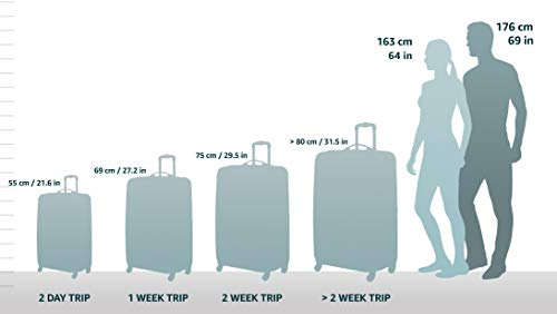 HAUPTSTADTKOFFER - Wedding - 3er Koffer-Set Trolley-Set Hartschalen-Koffer Rollkoffer Reisekoffer, TSA, (S, M & L), apfelgrün - 2
