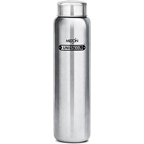 Milton Aqua-1000 Stainless Steel Water Bottle, 930 ml, Silver