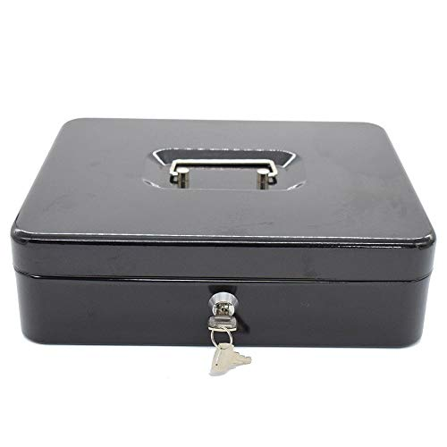 Aszhdfihas Cash Box cassetto Cash Box Tooth Blocco Tasti Black Dimensioni 300X240X90CM I Tuoi Soldi...