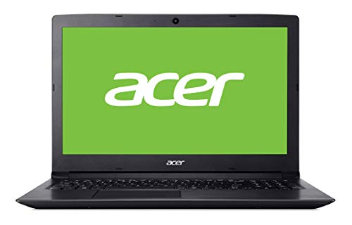 "Acer Aspire 3 | A315-53 - Ordenador portátil de 15.6"" HD (Intel Core i3-7020U, 8 GB RAM, 1000 GB HDD, UMA, Windows 10 Home) Negro - Teclado QWERTY Español"