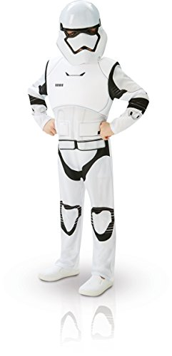 Star Wars - Disfraz de Villain Trooper Deluxe para niños, M (5/6 años) (Rubie's 62026-M)