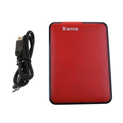 perfk 2,5'Hard Disk Esterno da 750 GB HDD USB 3.0 5Gbps Archiviazione Dati per PC Notebook Computer...