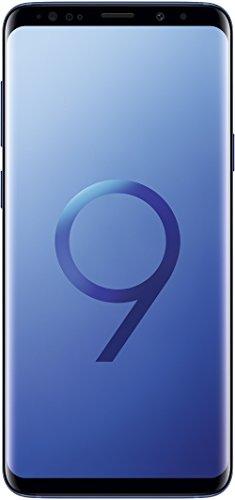 "Samsung Galaxy S9 Plus - Smartphone de 6.2"" (4G LTE, Wi-Fi, Bluetooth 5.0, Octa-Core 4 x 2.7 GHz, 64 GB de ROM, 6 GB de RAM, Dual SIM, cámara de 12 MP, Android 8.0) Azul - Otra versión Internacional"