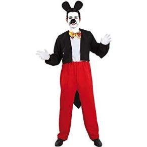 DISBACANAL Disfraz de ratón Mickey - X