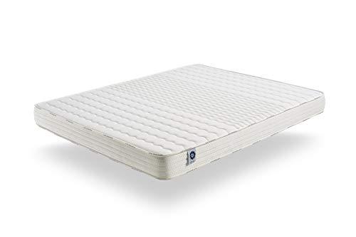 naturalex Soft Sensation Mattress - Aero Latex® bi-Density Foam - Memory Foam Thermosoft - 7 Comfort Zones - hypoallergenic (180 x 200 cm, 15)