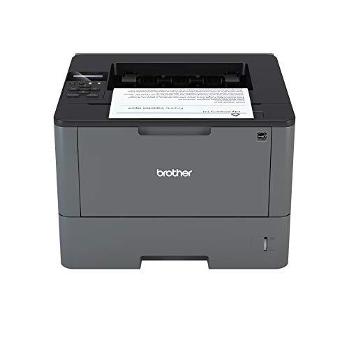 Brother HLL5000D Stampante Laser Mono, 40 ppm, con Stampa Fronte e Retro, USB 2.0 Hi-Speed
