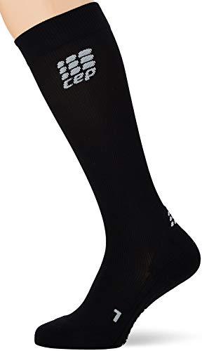 CEP - Socks for Recovery für Damen | Lange Sportsocken zur Regeneration in schwarz | Größe III