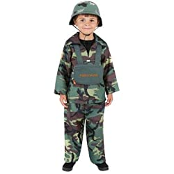idealWigsNet Disfraz de Chico Militar