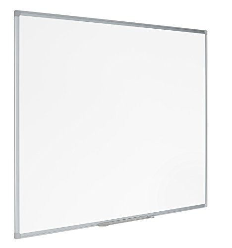 Bi-Office Lavagna non Magnetica Cancellabile a Secco Earth-It, 120 x 90 cm, Bianco