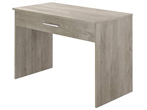 Movian, scrivania con cassetto singolo, in stile moderno, modello Indre, 56 x 110 x 73 cm, Effetto...