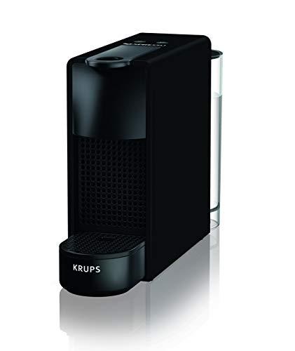 Krups Nespresso xn110N xn100N Essenza Mini macchina da caffè Capsule, 1260, colore: nero opaco