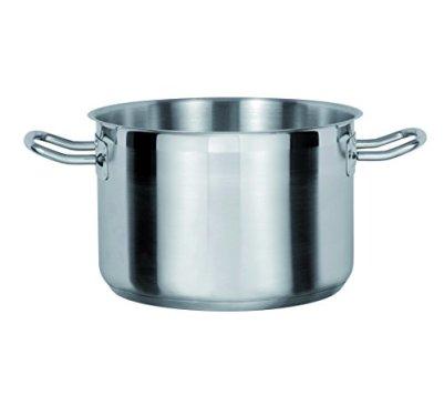 GSW-978200-Gastro-Traditionell-Le-Chef-Bratentopf-o-Deckel-20cm-Edelstahl-silber-32-x-214-x-96-cm