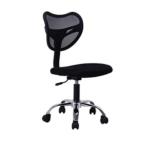 HARD Poltrona ufficio direzionale con schienale medio in ecopelle, design moderno ed ergonomico, altezza seduta regolabile, meccanismo di inclinazione, girevole da 360 gradi, nero