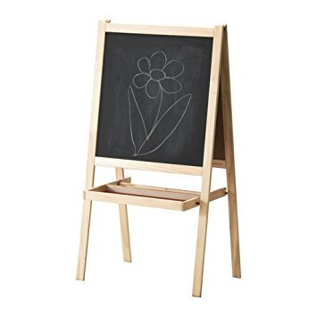 IKEA MALA - Easel, softwood, white by Ikea