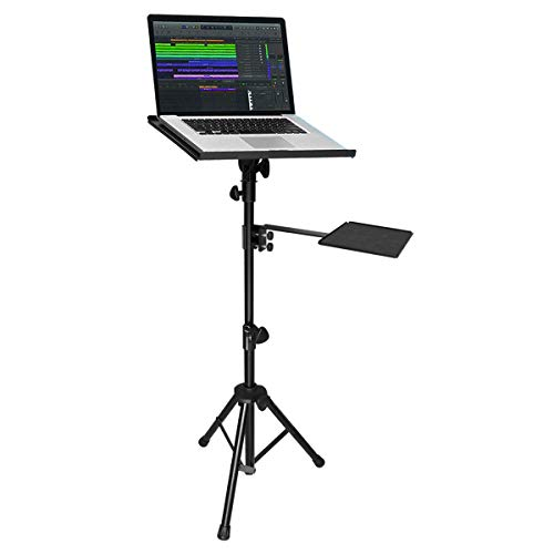 Projector & Laptop Tripod Stand, Adjustable Height, Light Weight Made of Iron, Plastic Base