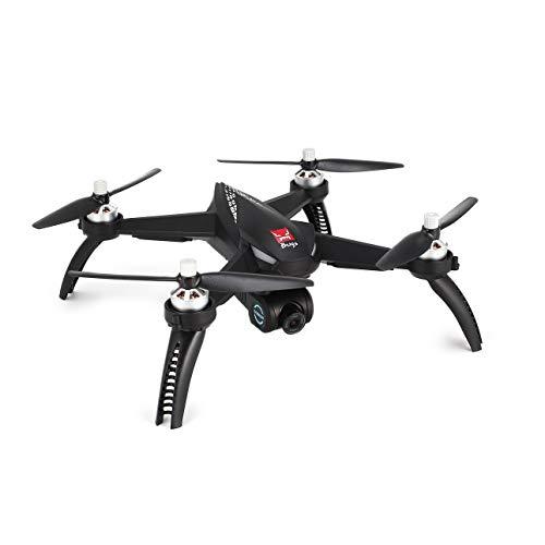 Ballylelly Drone con Fotocamera MJX Bugs 5W B5W GPS Registrabile 5G WiFi 1080P Fotocamera FPV RC...