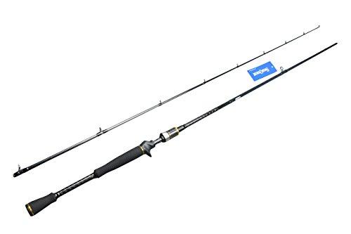 seaquest Canne da Casting Casting Rod 7ft Esche Asta Giess Medie e Pesanti Power Canna da Pesca in Fibra di Carbonio Casting Rod