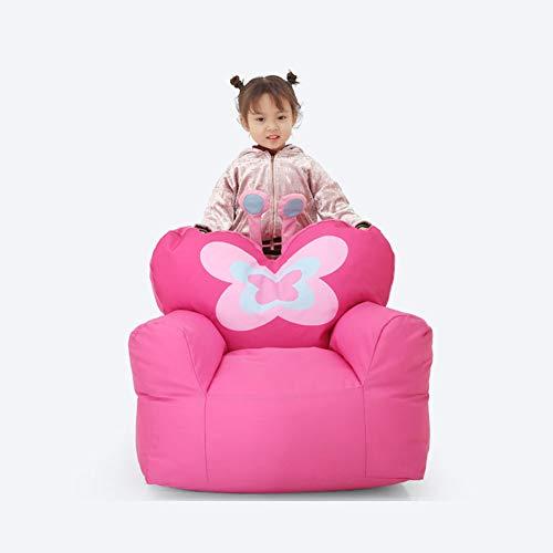 XUE Silla del Bolso de Haba, sofá Grande Lavable de la máquina y Muebles Gigantes de la Tumbona para los Cabritos, Adolescentes y Adultos Lindo Mariposa niños sofá Asiento vivero Tatami bebé