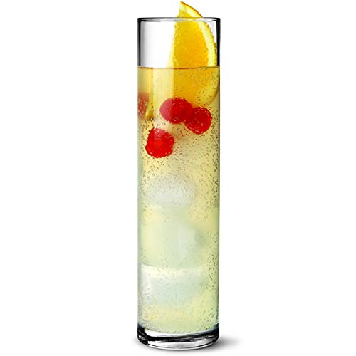 Bicchieri alti da cocktail 130oz/370ml-Confezione da 6, Ideale per cocktail Tom Collins
