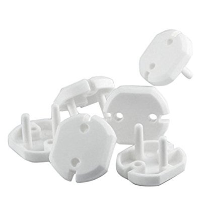 RKPM Outlet Plugs Baby Securely Cover Child Proof Electrical Socket Covers - Pack of 20 4
