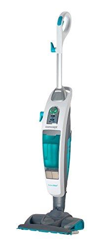 Concept Elettrodomestici Perfect Clean Aspirapolvere e Pulitore a Vapore 3 in 1, 1600 W, 0.73 Litri,...